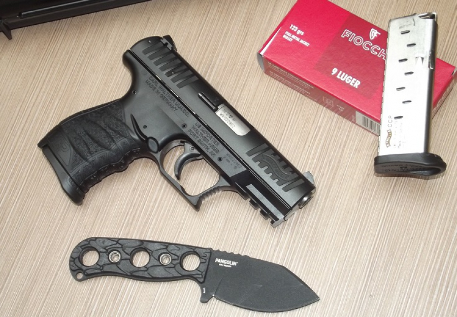 4e63fffbad5e Walther CCP - 9 mm Luger önvédelmi pisztoly 1. rész - FegyverVideo.hu