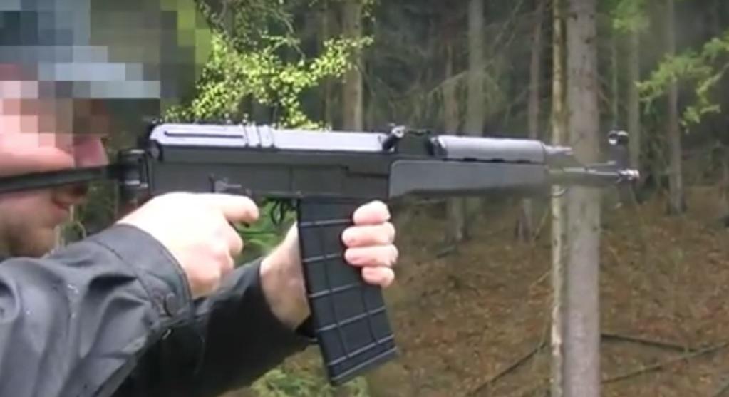 CSA Vz.58 5,56×45 mm öntöltő karabély