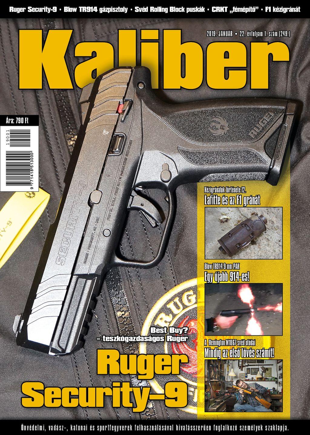 Kaliber Magazin 2019 január (249)