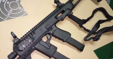 CAA Micro Roni karabély átalakító szett + Glock 17