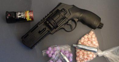 Umarex HDR50 paintball/pepperball .50 revolver 2. rész