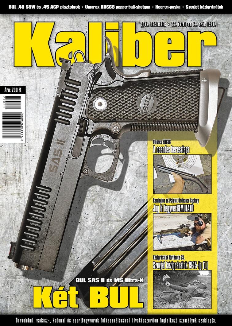 Kaliber Magazin 2019. december (260.)