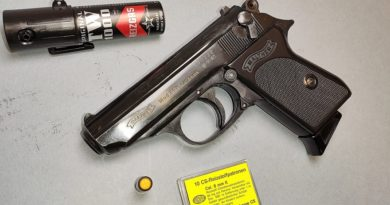 Umarex WALTHER PPK 8 mm K gázpisztoly – 1993-ból
