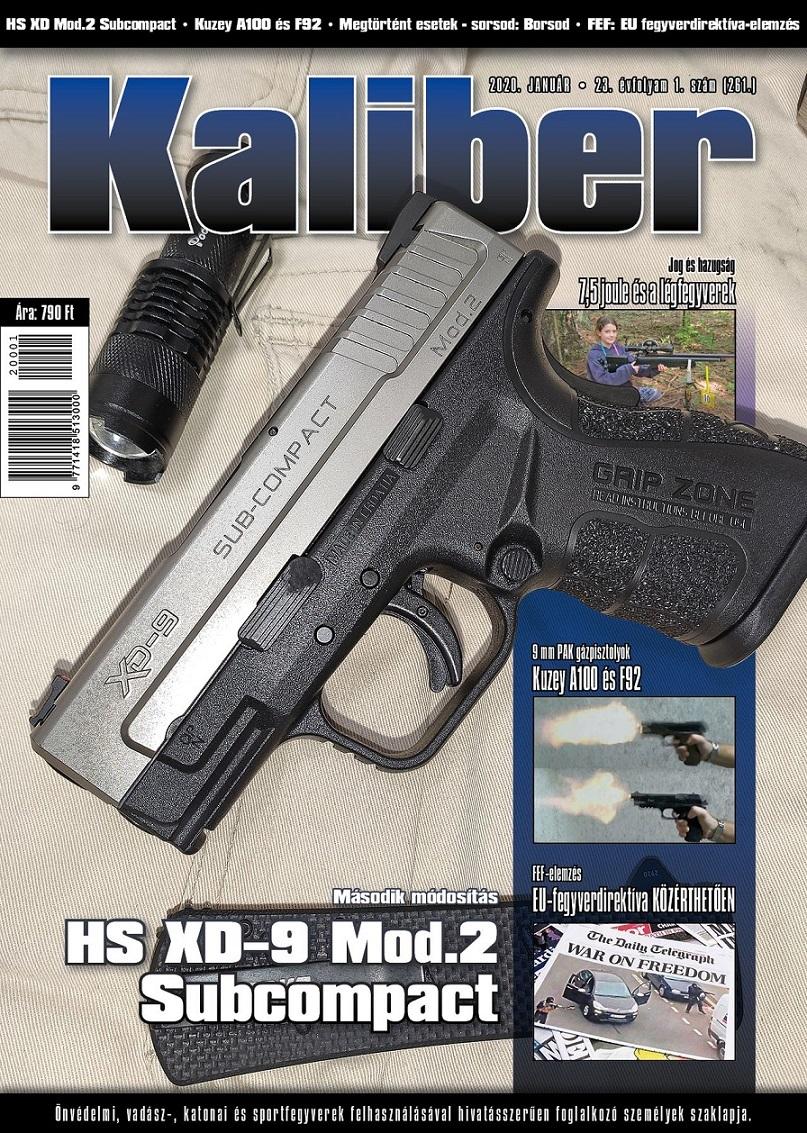 Kaliber Magazin 2020 január (261)