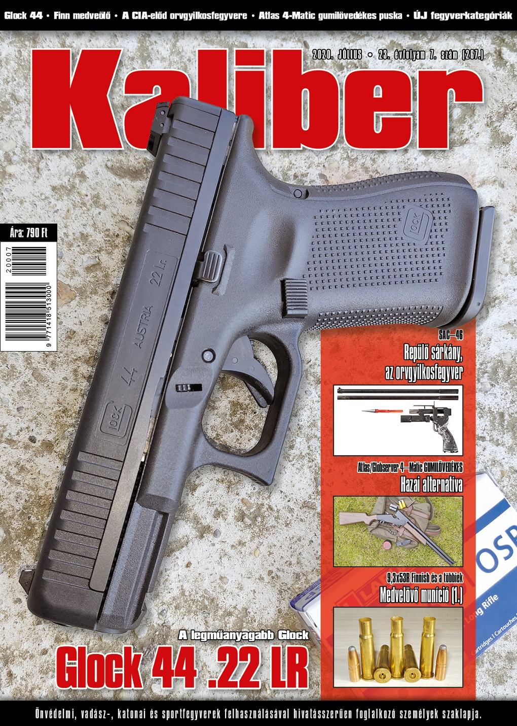 Kaliber Magazin 2020. július (267.)