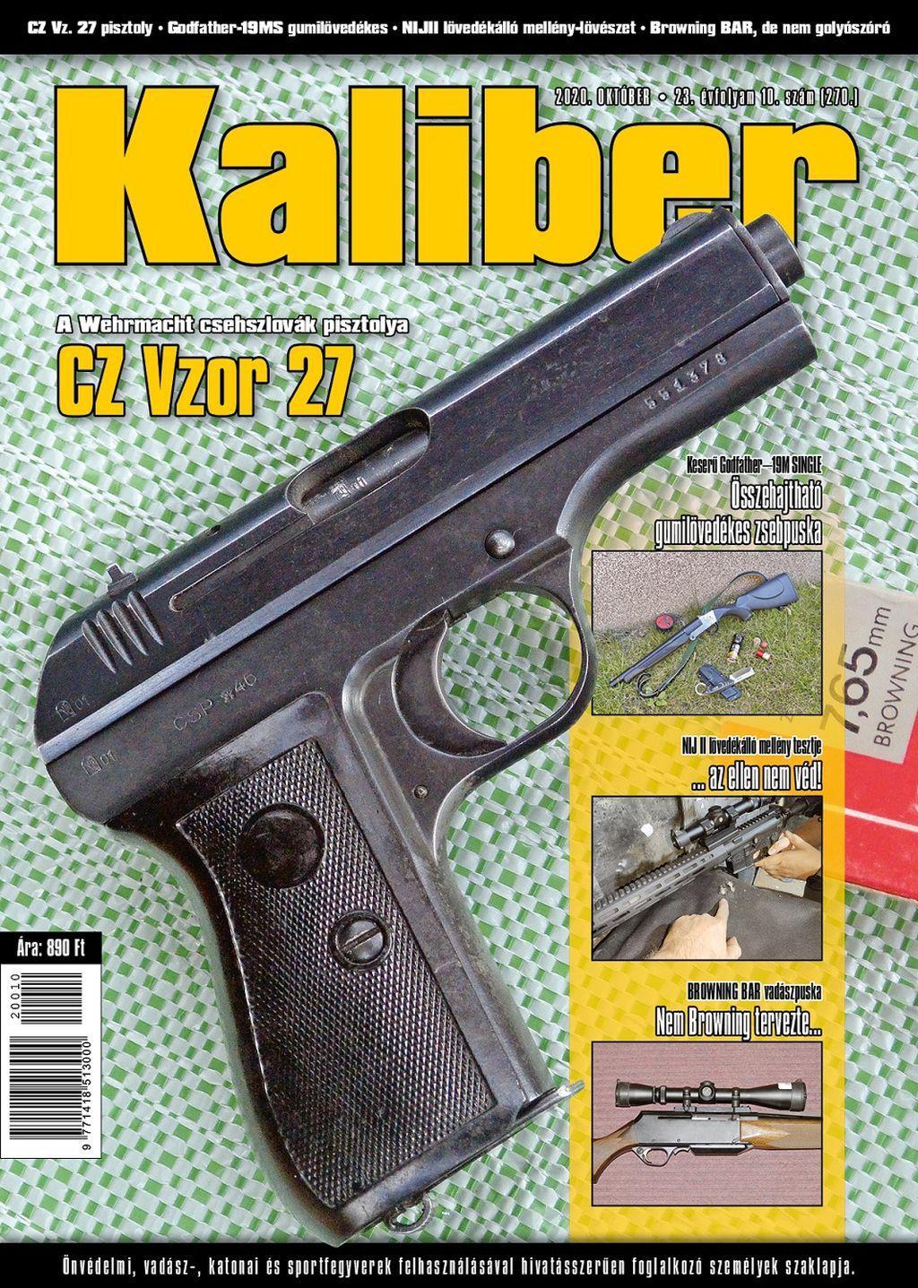 Kaliber Magazin 2020 október (270.)