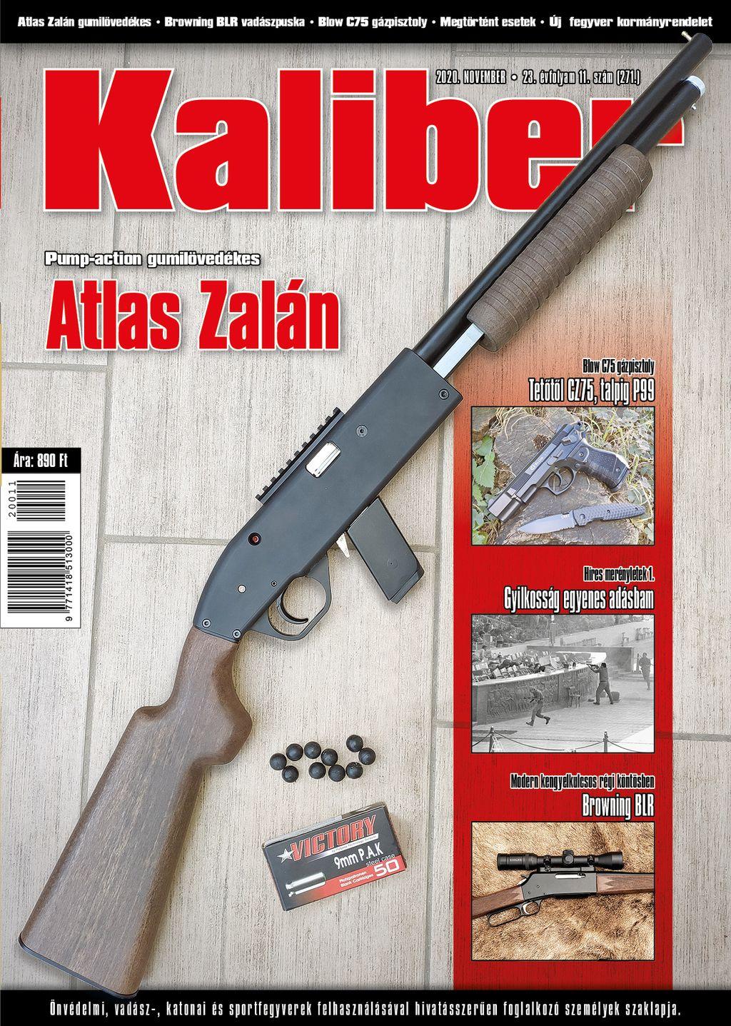 Kaliber Magazin 2020. november 27.