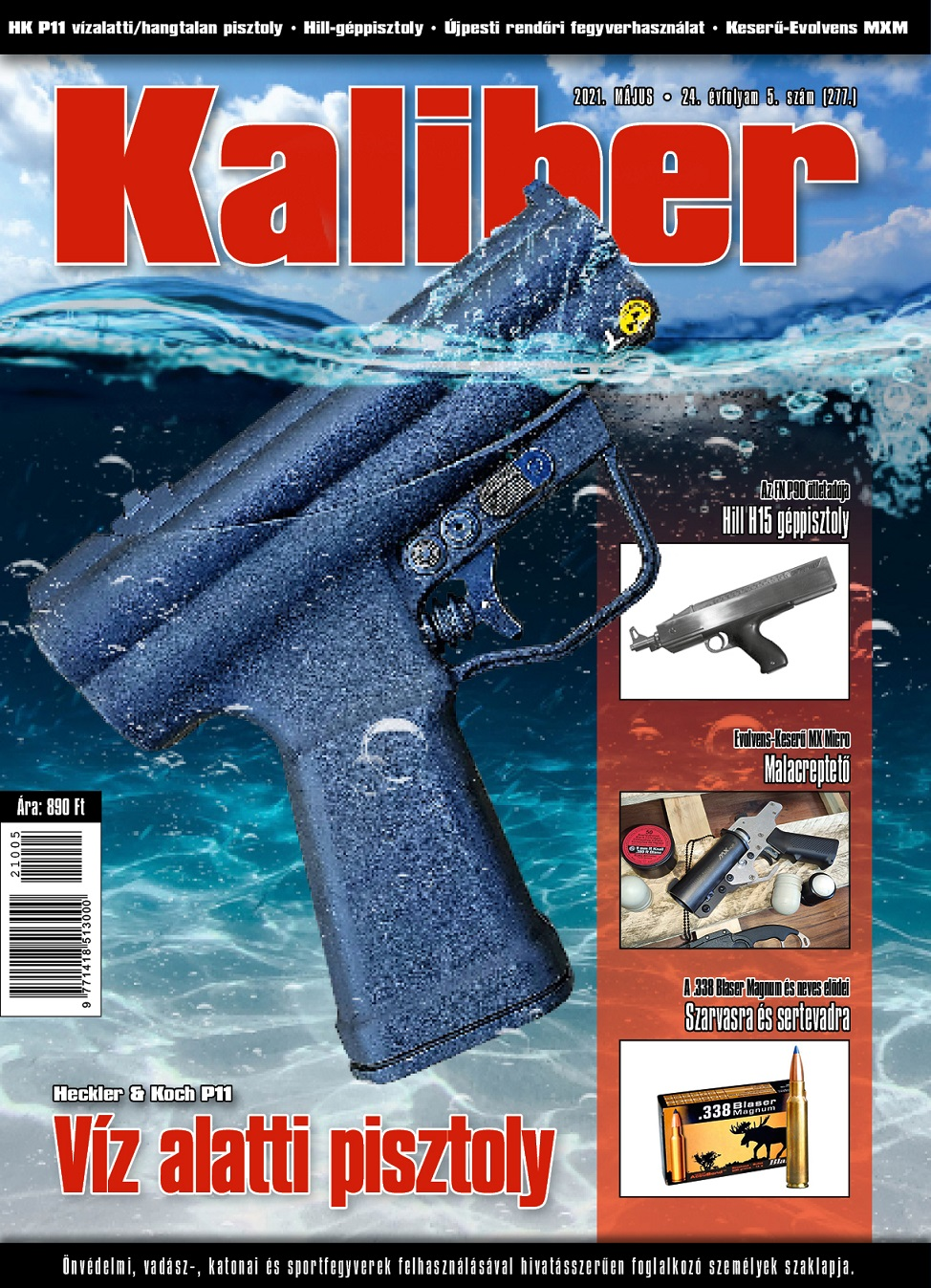 Kaliber Magazin 2021. május (277.)