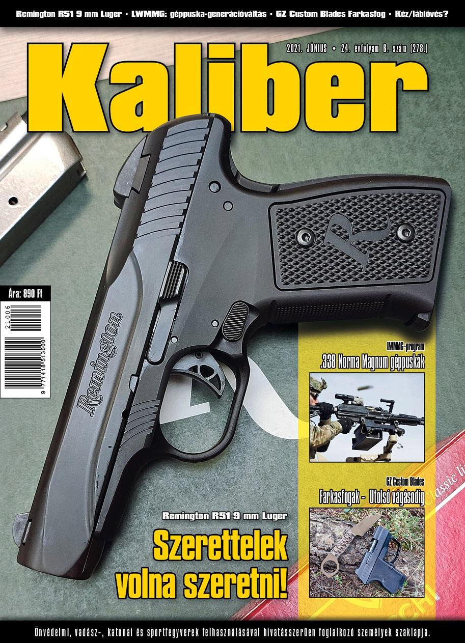 Kaliber magazin 2021. június (278.)