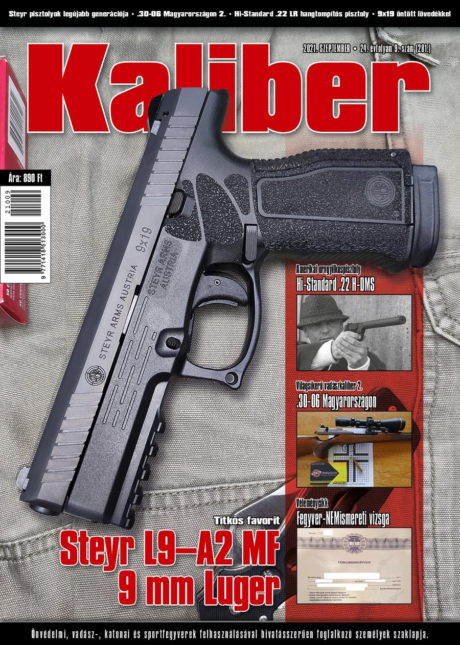Kaliber Magazin 2021 szeptember (281.)