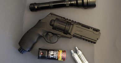 UMAREX HDR50 paintball/pepperball revolver + HUMÁN TESZT 1. rész